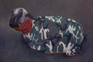 Sheep in Camouflage