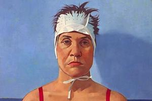 Self-portrait in Highlighting Cap